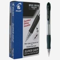 Pilot Supergrip Retractable Pen BPGP10R 1.0 Med.Black BX12