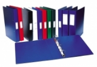 Bantex Ring Binder Deluxe A4 50mm 2D-ring +Label 1132-01 Blue