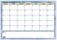 Writeraze Perpetual Month Planner A1 600x850mm Month To View