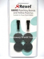 Rexel Power Punch Spare Hollow Punches & Boards R8093