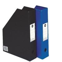 Marbig Magazine File Holder 2010002 PVC Black