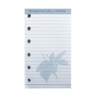 Dayplanner Refills KT3023 120x81 Pocket Shopping List/Note Pad