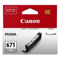 Canon Ink Cartridge CLI671GY (671GY) Grey