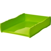 Esselte Nouveau document Tray Stackable 46799 Lime