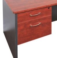 Rapid Manager Desk Under Desk Fixed 2 Drawer Pedestal