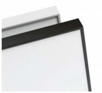 EDGE LX8000 Porcelain Magnetic Whiteboard Colour Frame 1200x1190