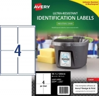 Avery L7915 Ultra-Resistant Outdoor Labels PK10sh 4/sh