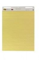 Post It 561 Easel Pad Yellow Lined 30sheets/pad 635x775mm