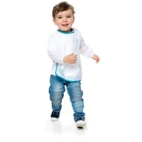 EDV First Creations Toddler 1-3Yr Old Long Sleeve Art Smock