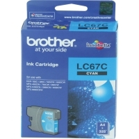 Brother Ink Cartridge LC67C Cyan