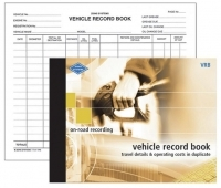 Zions Vehicle Record Book VRB
