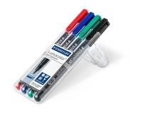 Staedtler 314 Lumocolor Pens Broad 314WP4 WLT4