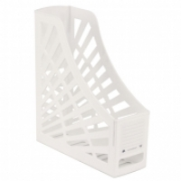 Italplast Magazine File Holder White