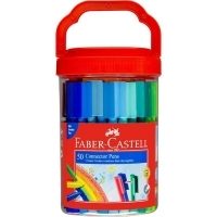 Faber Castell Connector Pens Bucket of 50