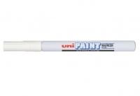 Uni Paint Marker PX203WH 0.8mm White BX12