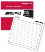 Notebook Plain Ruled Duplicate 100x127 Carbonless Impact SB313
