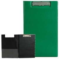 Marbig Clipboard Folder Foolscap PVC 4300504 Green