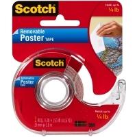 Scotch 109 Wallsaver Poster Tape & Dispenser 19mmx3.8M
