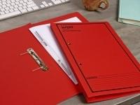 Avery Spring Transfer File BX25 86814 Red Printed Black