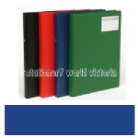 Bantex Flexi Ring Binder A4 2R 20mm Blue 1230-01