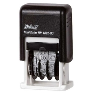 Deskmate Self-Ink Date Stamp RP1822 Mini 3mm