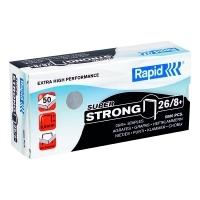 Rapid Staples 26/8 8mm Box 5000