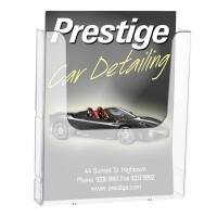 Deflecto Brochure Holder Wall Mount A4 Linking 39510