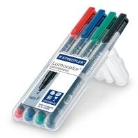 Staedtler 318 Lumocolor Pens Fine 318WP4 WLT4