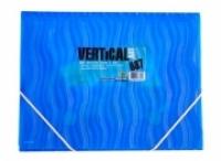 Foldermate 687 Document Wallet A4 Action Case Vertical Art Blue