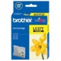 Brother Ink Cartridge LC37Y Yellow
