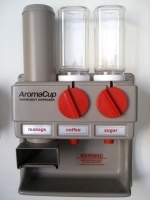Aroma Cup Dispenser AC300T 2 ingredient+1 teabag dispenser