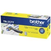 Brother Toner TN257Y Yellow - 2300 pages