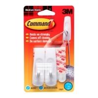 Command Adhesive 3M Hook Medium Pack 2 17001