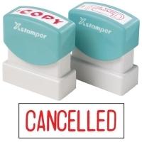 XSTAMPER STAMP - Cancelled (Red) 1119 (5011190)