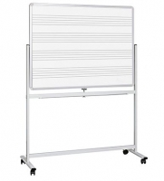 Visionchart Mobile Music magnetic Whiteboard 1800x1200