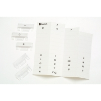 Crystalfile Suspension File Tab Inserts PK50 White 111540 old
