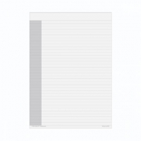 Dayplanner Refills EX5011 A4 White Lined Notepads Pk2