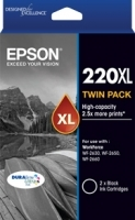 Epson Ink Cartridge 220XL HY Black Twin Pack