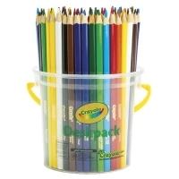 Crayola Triangular Coloured Pencils (12 Asstd Colours) TUB48