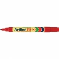 Artline 70 Marker Permanent Medium Bullet Red
