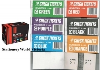 Check Tickets - Raffle Books Olympic 8711 (Box72 assorted)