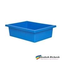 Elizabeth Richards Plastic Tote Tray Light Blue