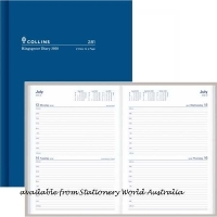 2021 Collins Kingsgrove Diary A5 2 Days/Page 281.P59 Blue