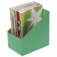 Marbig Book Boxes 8005804 Large: 170Wx250Dx270H (mm) Pkt5 Green