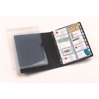 Marbig Business Card Binder A4 (500card capacity) 8703102