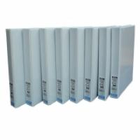 Bantex Insert Binder A4 3D 25mm (200page) White BX25