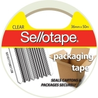 Sellotape Packaging Tape 175CL Clear 36mm x 50M