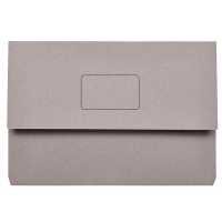 Marbig Slimpick Document Wallet Manilla Foolscap 4004011 GREY
