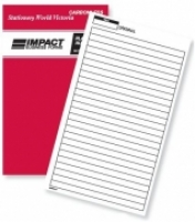 Notebook Plain Ruled Duplicate 8x5 Carbonless Impact SB325