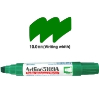 Artline Big Nib Whiteboard Marker 5109A Chisel Green